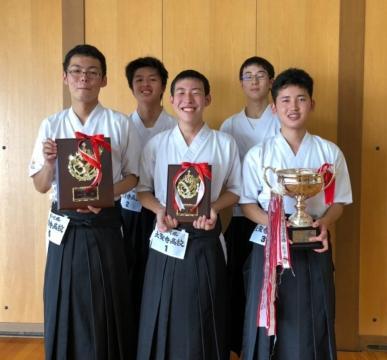 令和元年度加賀地区高等学校弓道大会男子優勝