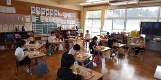 2,3年生の教室ですよ