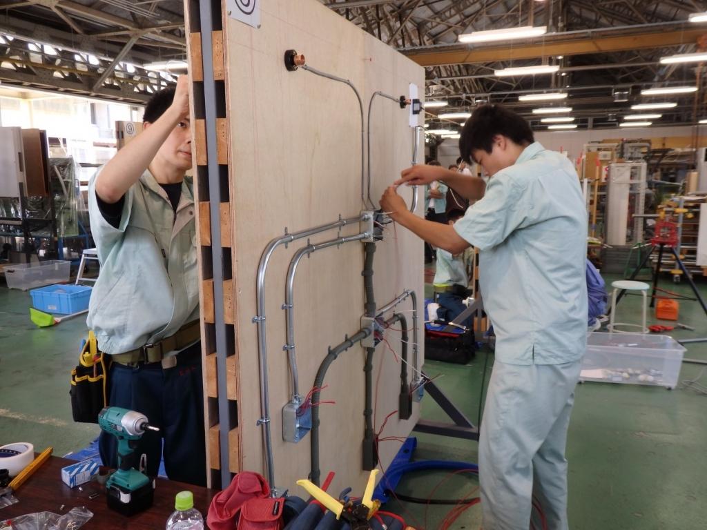 電気工事技術の活用
