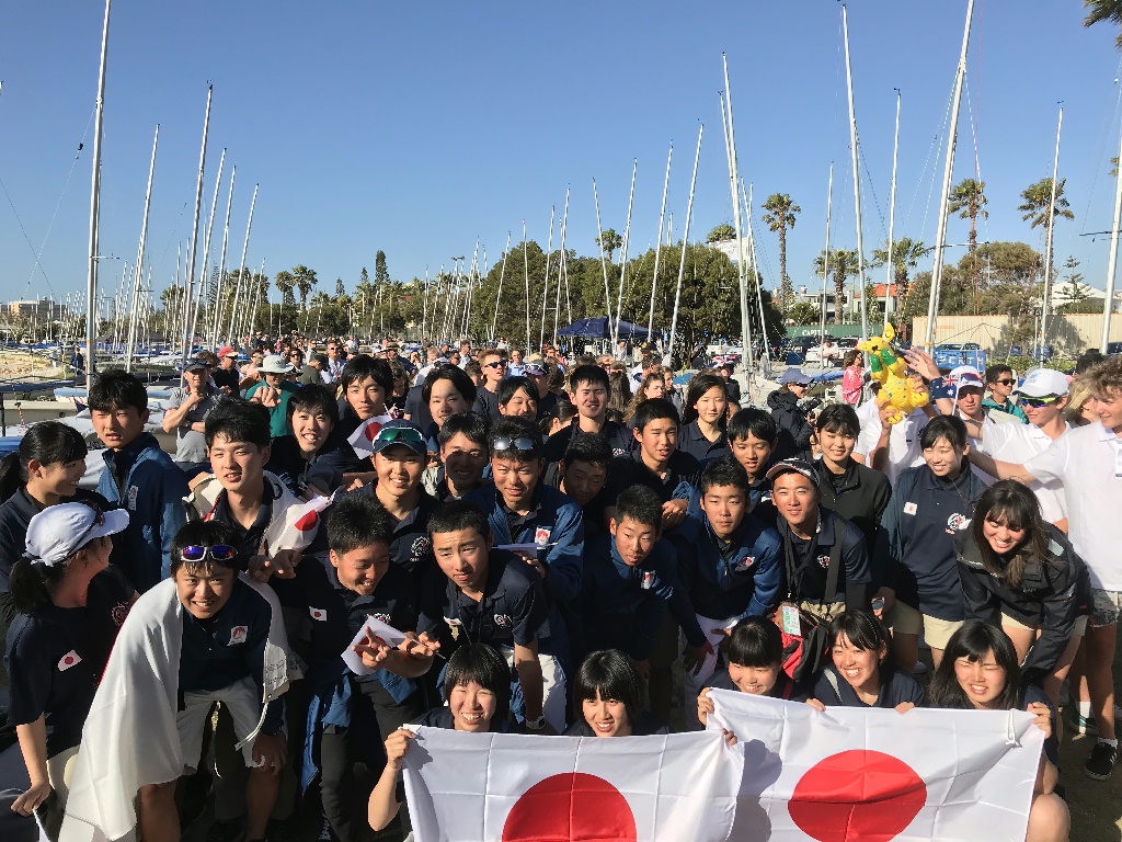 日本チーム集合写真
