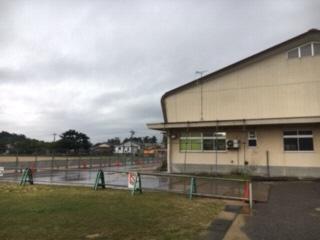 第2体育館の外壁の写真