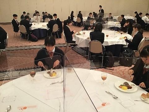 テーブルマナー講習会(ホテルフジタ)