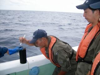 表面水温計測